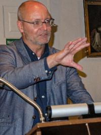 Prof. Freund verstand es brilliant, die Anwesenden mit der Geschichte um den Sachsenherzog zu fesseln.